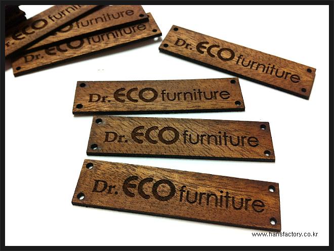 Dr. ECO Funiture 우드명판 주문제작^^