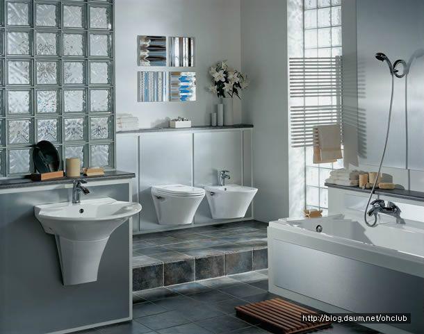 [욕실인테리어] 외국 욕실인테리어 및 욕실리모델링 살펴보기