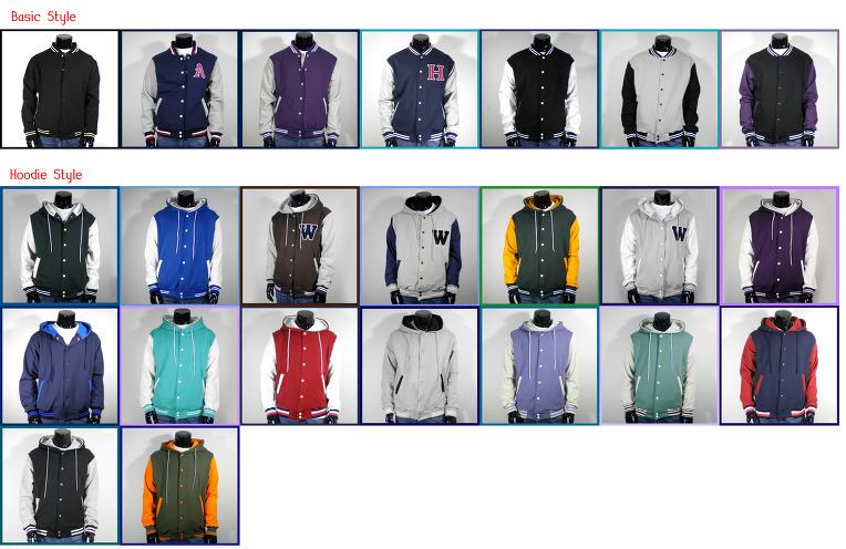 Mens A Brand New Varsity Baseball Jacket Navy Gray S,M,L,XL,2XL ...