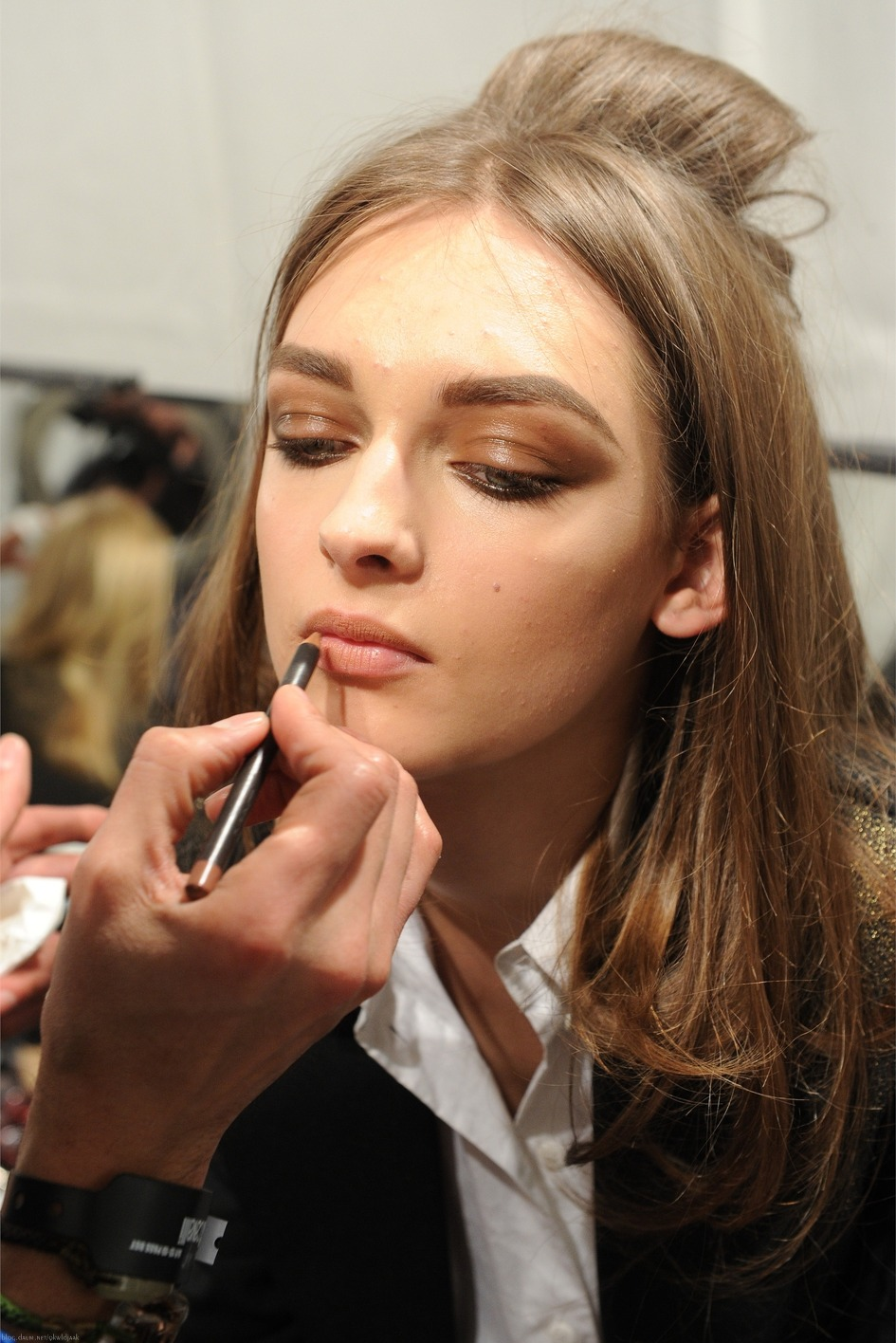 Blumarine Fall/Winter 2012.13 Ready-To-Wear Milan Backstage