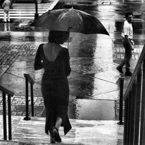 비오는 날...