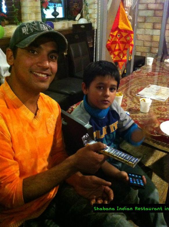 """인도 디왈리 축제 """"인디언 레스토랑 샤바나"""" 2013"""