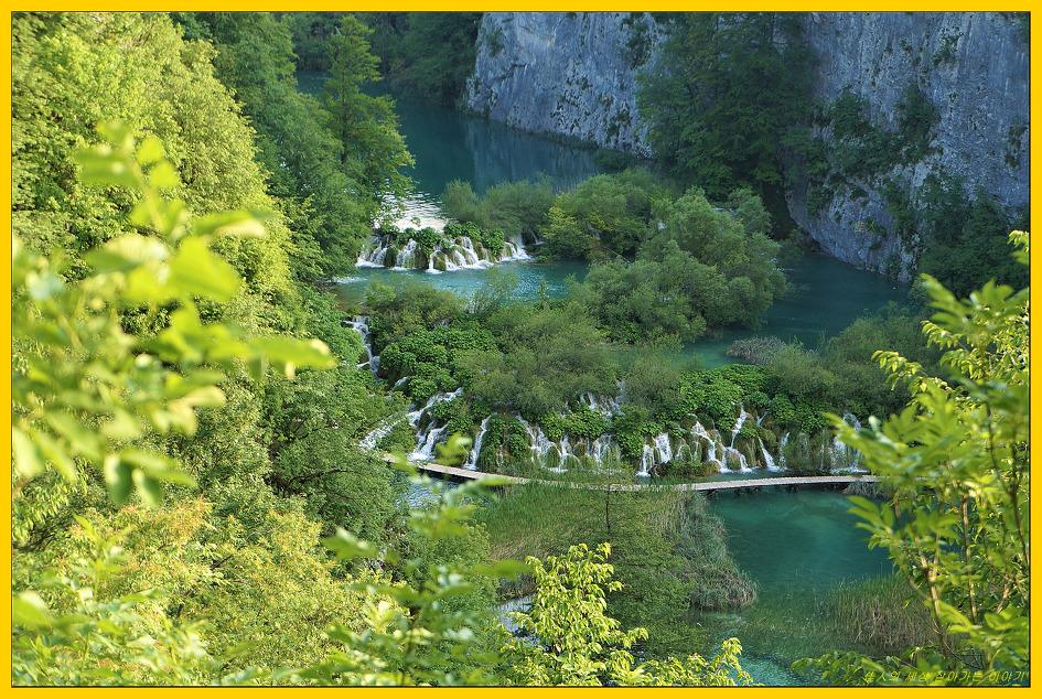 코자크(Kozjak) 호숫가를 걸어봅니다.