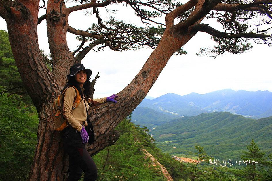 월악산 국립공원 포암산~만수봉
