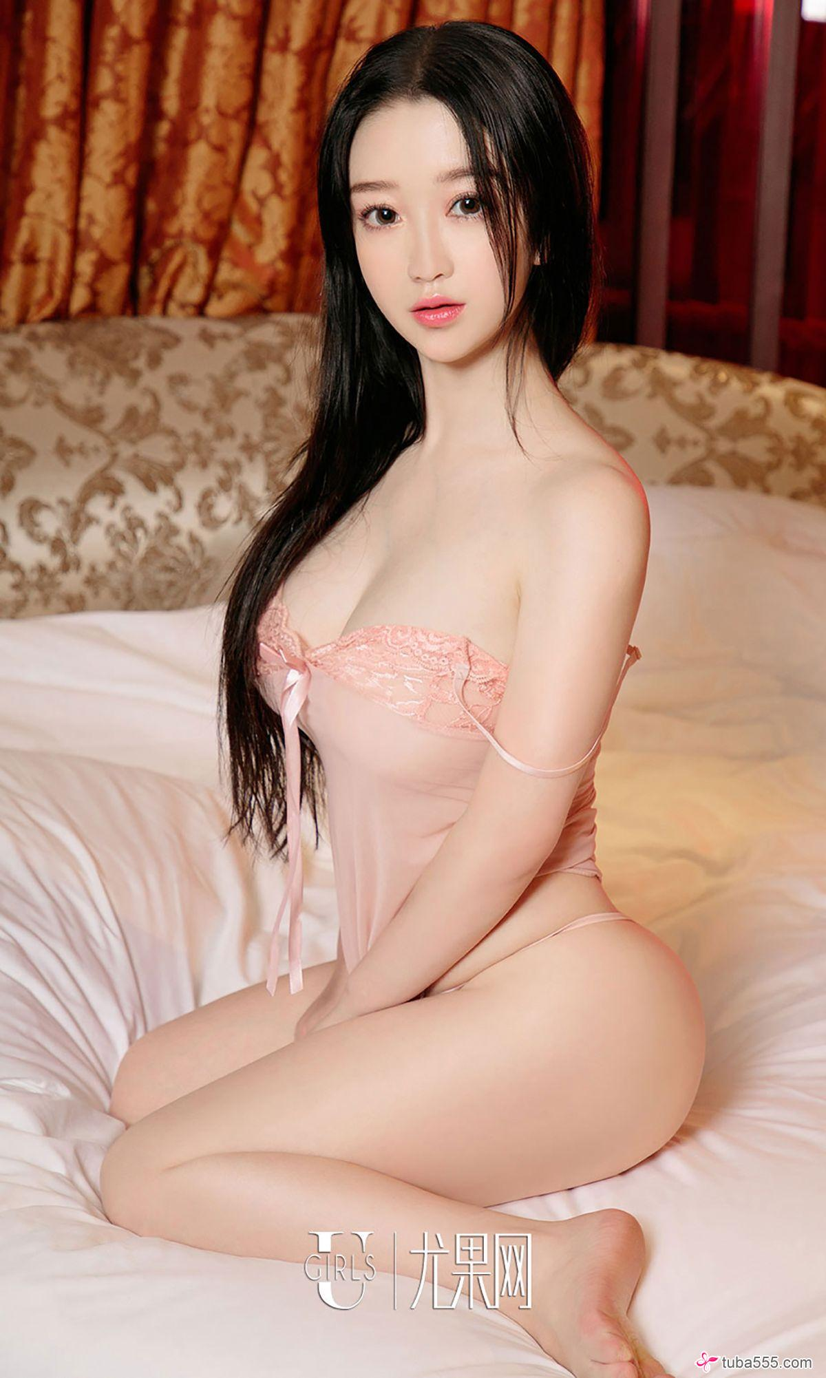 hot beautiful Chinese girl wearing lingerie